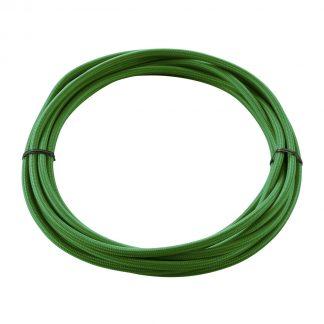 КАБЕЛЬ 3х 0,75 кв.мм, 5 м, H03W-F, в текстильной оплетке, зеленый